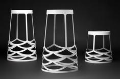 La Scala stool by Ute Design