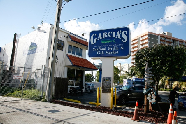 The old school Garcia's is still the place to go for seafood.