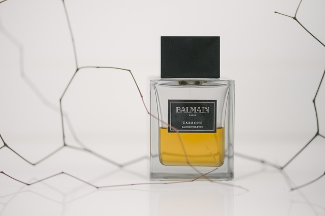 """Cologne: """"Scent is important, and I just like the shape of the bottle. It's a simple aroma, nothing too overpowering. I got my first bottle as a gift from Simon & Jones two Christmases ago."""""""