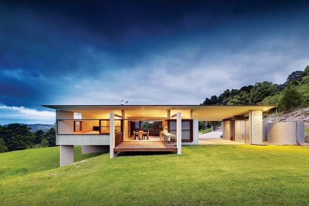 Foxground valley house architectureau for Fox blocks house plans