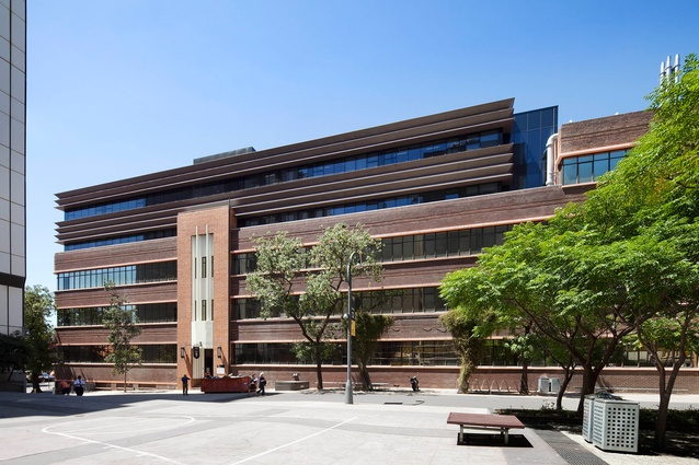 RMIT University Building 9 by Peter Elliott Architecture and Urban Design.