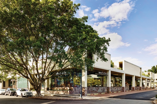 The recently completed 19 Wandoo Street project saw the conversion of an existing shed into a large retail space.
