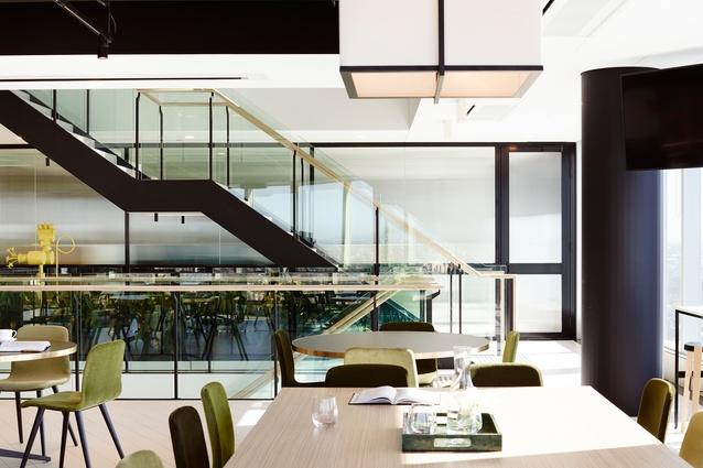 Allens (Brisbane Office) by Bates Smart.