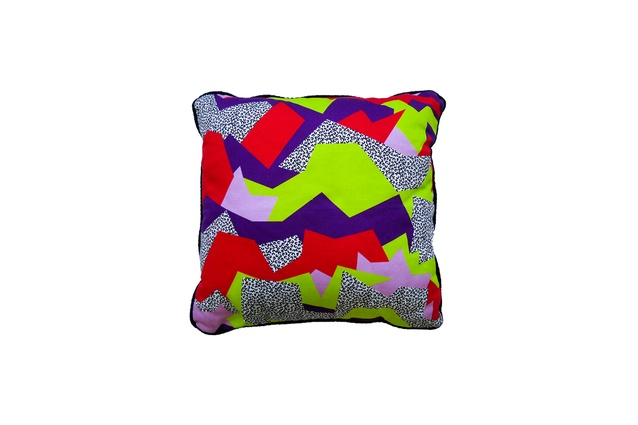 """Cushion by Camille Walala I $62 from  <a  href=""""http://camillewalala.com/"""" target=""""_blank""""><u>camillewalala.com</u></a>"""