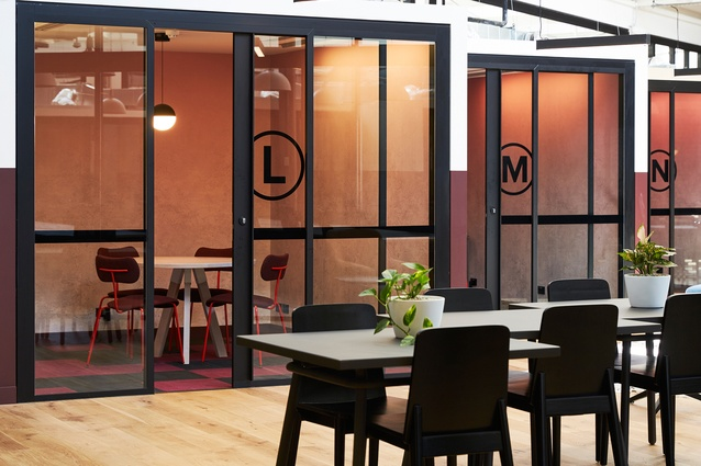 WeWork Pyrmont by TomMarkHenry in collaboration with WeWork and Crone.