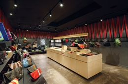 New interiors for Crumpler stores