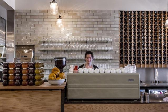 Finalist: Hospitality – Loretta Cafe (Cuba St, Wellington) by Parsonson Architects.