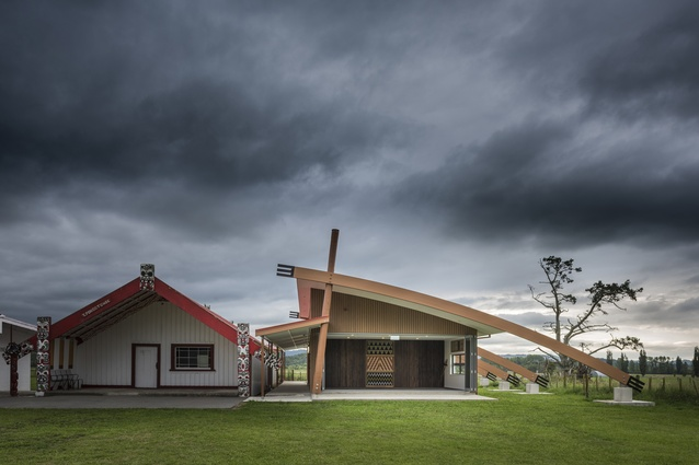 Supreme Award and Commercial Industrial Architectural Design Award: Tanatana Marae, Waimana by Aladina Harunani of Apa Architects & Project Managers.