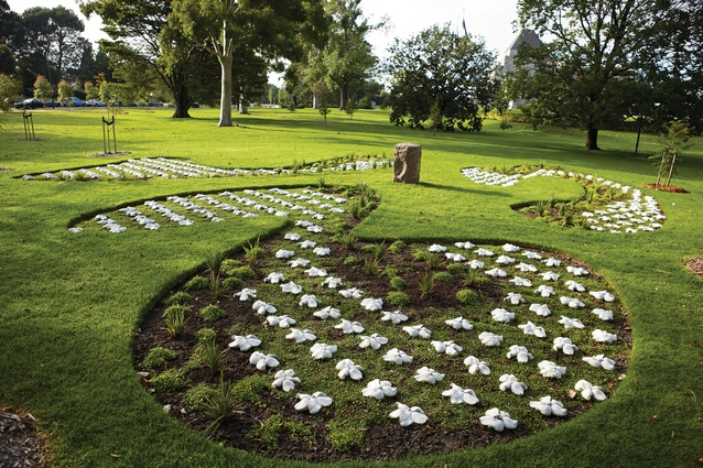Ex servicewomens memorial garden and cairn ArchitectureAU