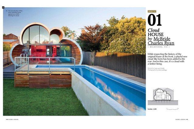 A preview from the magazine: Cloud House by McBride Charles Ryan.