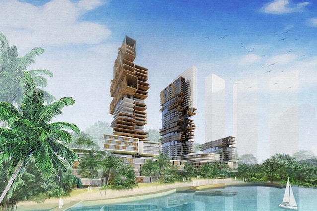 Trousdale Mixed-Use Development (Malaysia) by BDA in collaboration with AECOM Landscape.