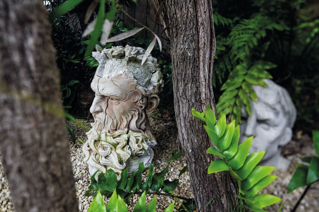 Sculptures by Patté now on display in  the garden.