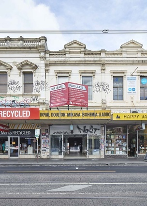 296 Smith Street, Collingwood, home of Watchmaker by Folk Architects.