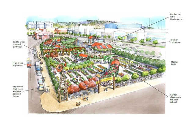 Plans For An Edible Garden On Auckland 39 S Waterfront Architecture Now