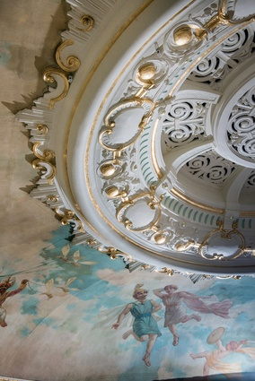 The central dome was painstakingly restored by Italian conservator Carolina Izzo and her team, to the quality of European restorations of 16th-century edifices.
