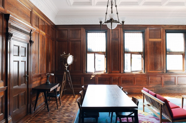 The C.U.B. Suite is located in the former boardroom of Carlton & United Breweries.