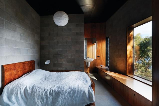 Material palette kerstin thompson architectureau for Besser block home designs