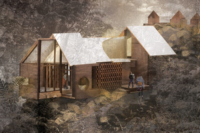 The 2016 Interior Awards Student category winner: <em>The Fictional Generator</em>. Pottery house to Printmaking house.