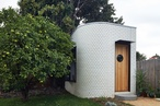 Aligning the Art Deco chakra: Backyard Yoga Studio