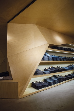 L.A.X. Adelaide retail store by Genesin Studio.