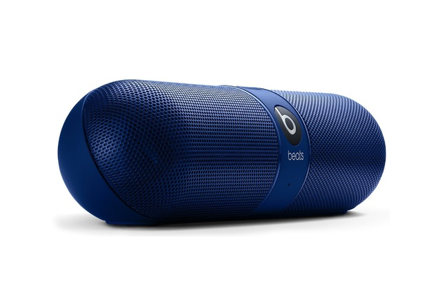 "Beats pill | <a href=""http://store.apple.com/us/product/MH812AM/A/beats-by-dr-dre-pill-20-speaker"" target=""_blank""><u> $339.95 from the Apple store.</u></a>"