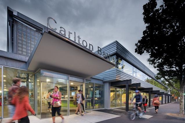 Carlton Baths and Community Centre by Peter Elliott Architects.