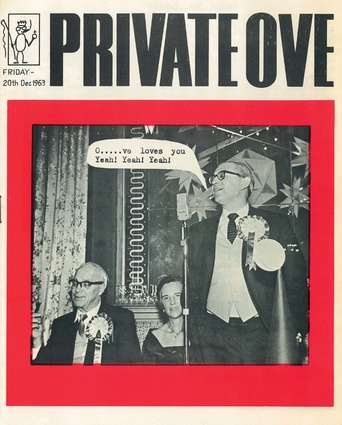 'Private Ove', Ove Arup and Partners' Christmas party pamphlet, 1963.