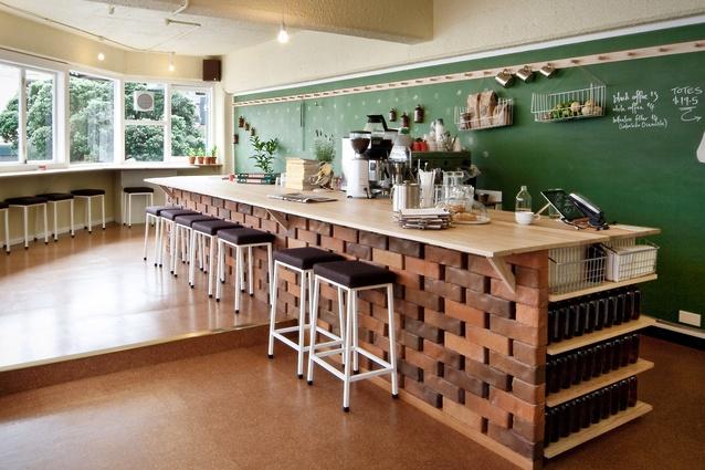 rustic cafe interior design