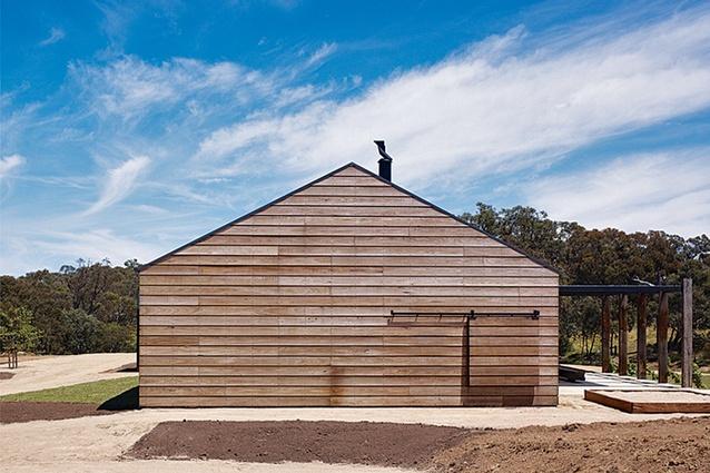 Hill Plains House – Wolveridge Architects.