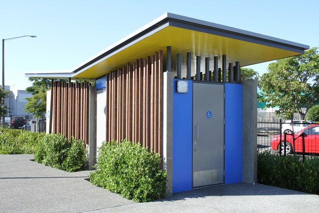 2015 gisborne hawkes bay architecture awards architecture now Public bathroom design architecture