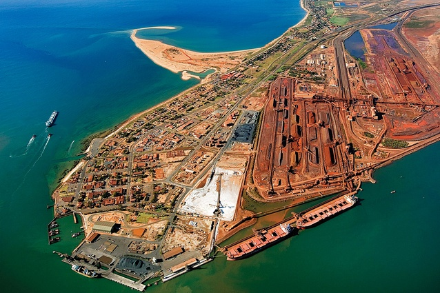 Looking towards Port Hedland.