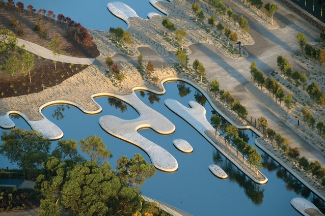 Australian Garden in Cranbourne, Victoria by Taylor Cullity Lethlean (stage two, 2012).