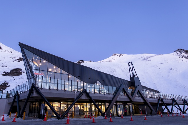 Supreme Award, PlaceMakers Tourism and Leisure Project Award and Value Award over $15 million: The Remarkables Base Building, Queenstown.