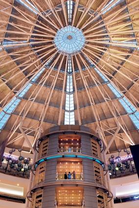 Petronas Twin Towers shopping mall.