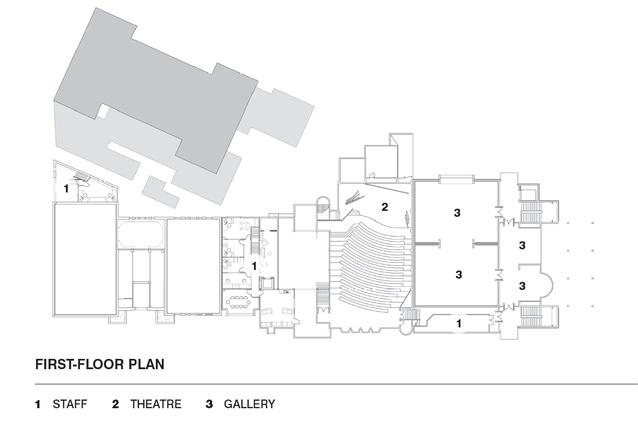 First-floor plan.
