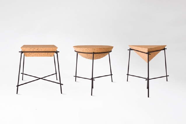 Basil side tables from Petite Friture