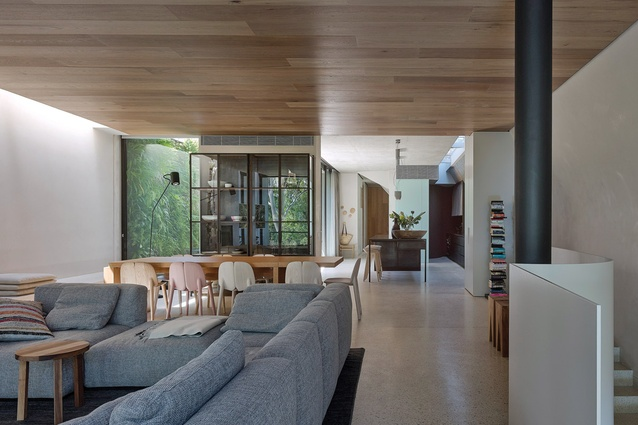 2013 Interior Design Excellence & Innovation and Residential Design awards: Park House by Leeton Pointon Architects + Interiors and Allison Pye Interiors.