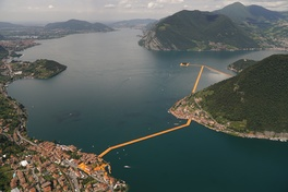 Christo and Jeanne-Claude's Floating Piers