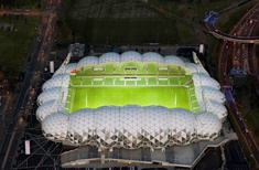 AAMI Park stadium claims its twenty-second award