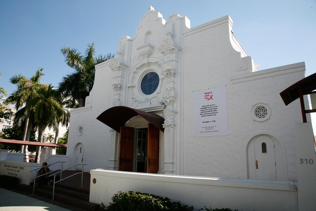 Miami Beach's Community Church.