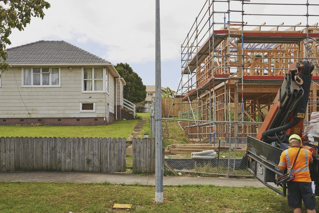 The Creating Communities project will deliver around 300 new private, affordable and state houses to central Auckland's Glen Innes.
