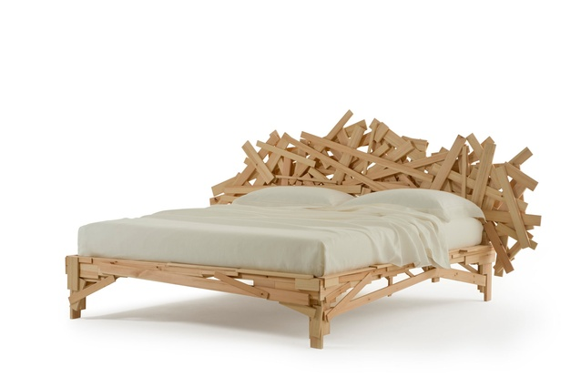 Favela bed by Fernando and Humberto Campana for Edra.