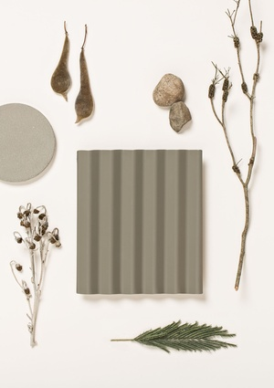 Gully – a warm, neutral mid-grey/green.