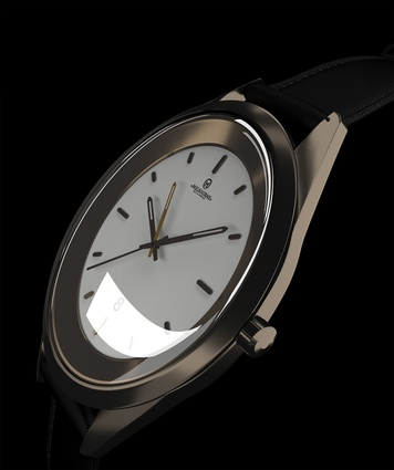 The Melbourne Watch by Cox Architecture is inspired by the proportions of the MCG.