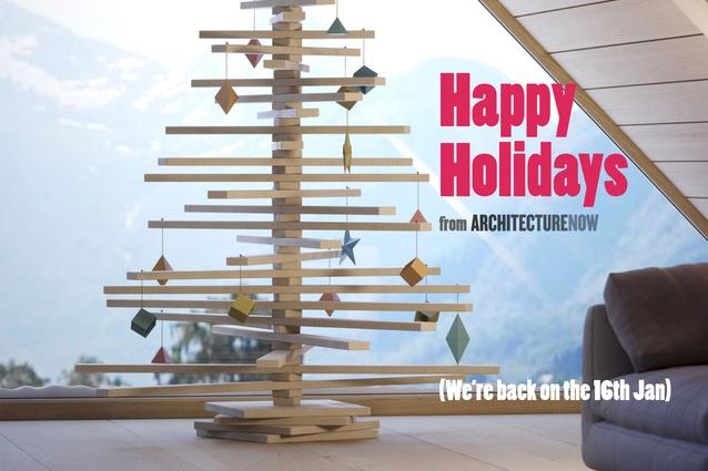 Happy Holidays from <em>ArchitectureNow</em>!