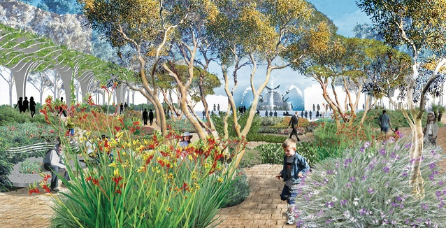 The Southern Garden, Victoria Square / Tarndanyangga regeneration project.