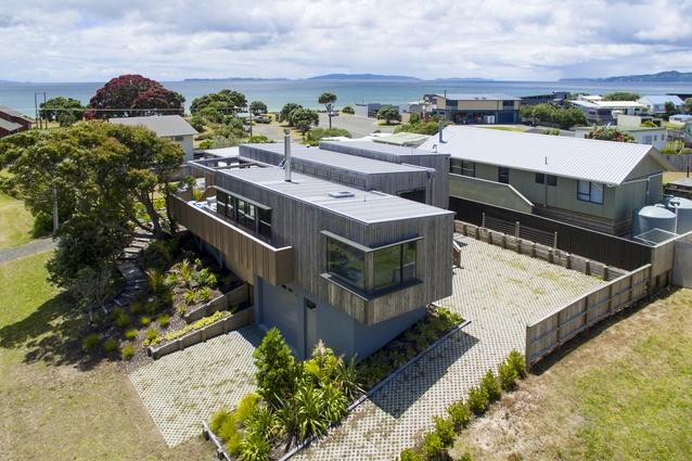 Housing winner: Farquhar House, Whangapoua by Alignworks.