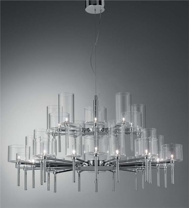 Spillray chandelier.