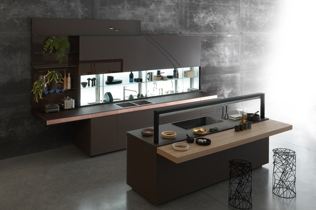 Gourmet system from Valcucine