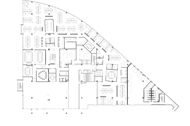 Ground level floor plan.
